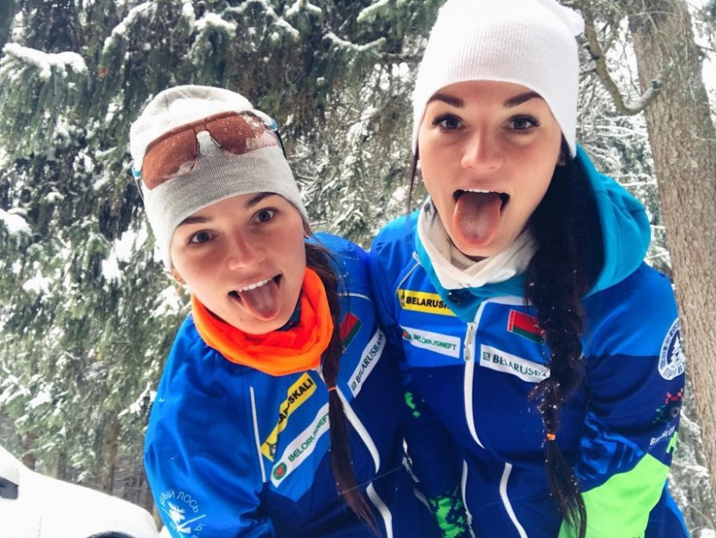 Elena and Irina Kruchinkinа - Belarus biathlon