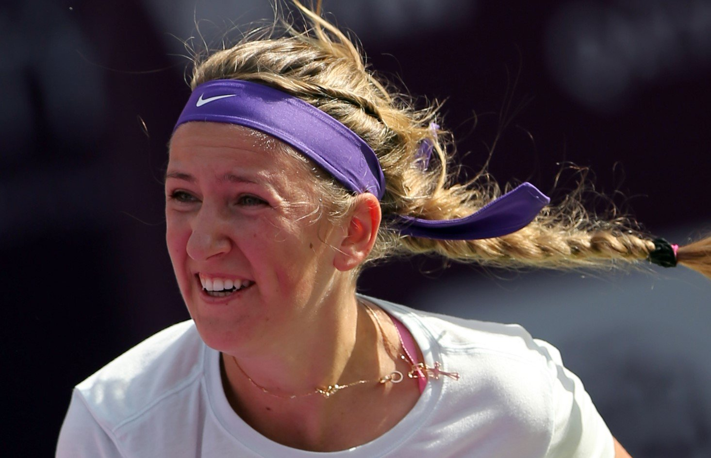 What did Vika Azarenka do six months while not playing tennis?