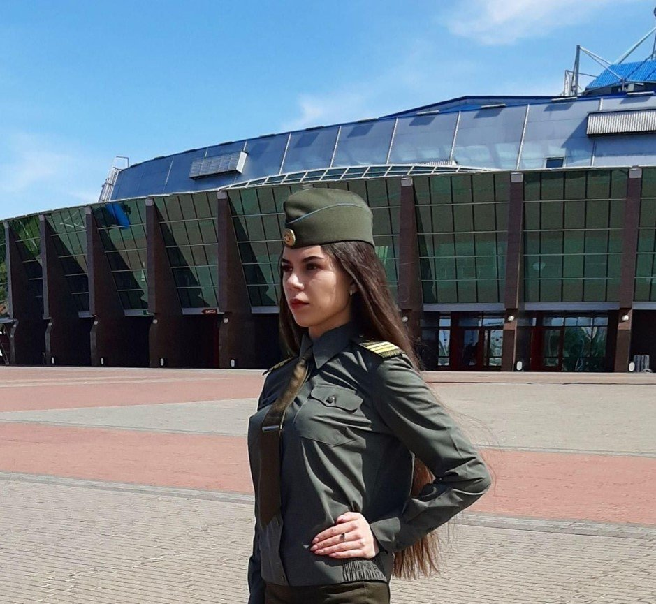 Anastasiya Prokopenya - Armed Forces of Belarus