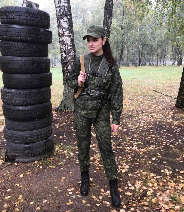 Lydmila Nekraylova - Armed Forces of Belarus
