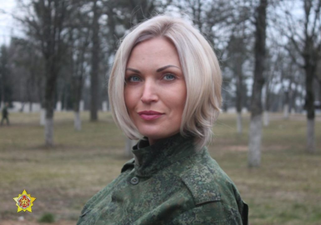 Maryna Polskaya - Armed Forces of Belarus