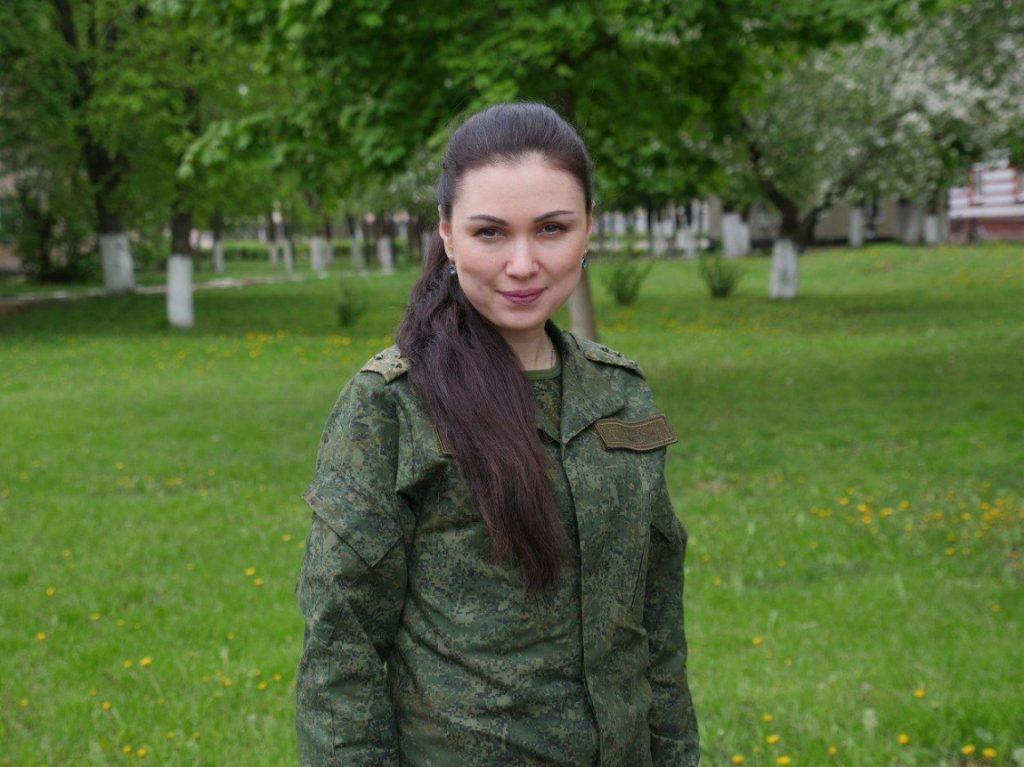 Natalya Rozhko - Armed Forces of Belarus