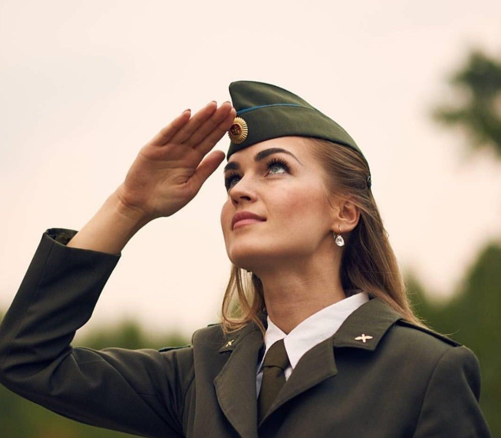 The beauties who serve in the Armed Forces of Belarus