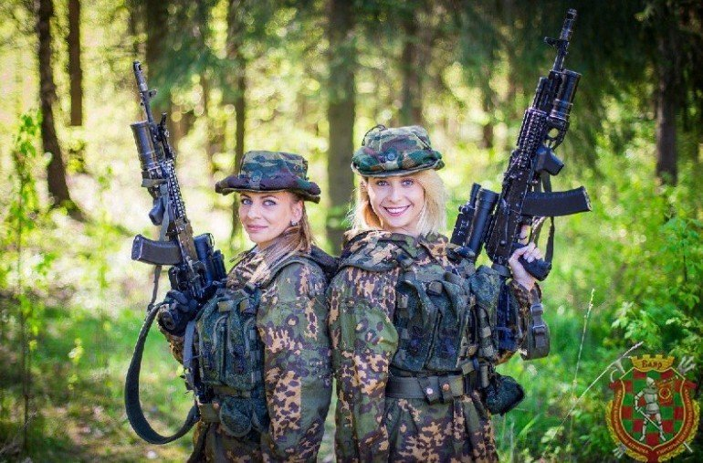 Elena Kuzmich and Irina Birkos - Armed Forces of Belarus