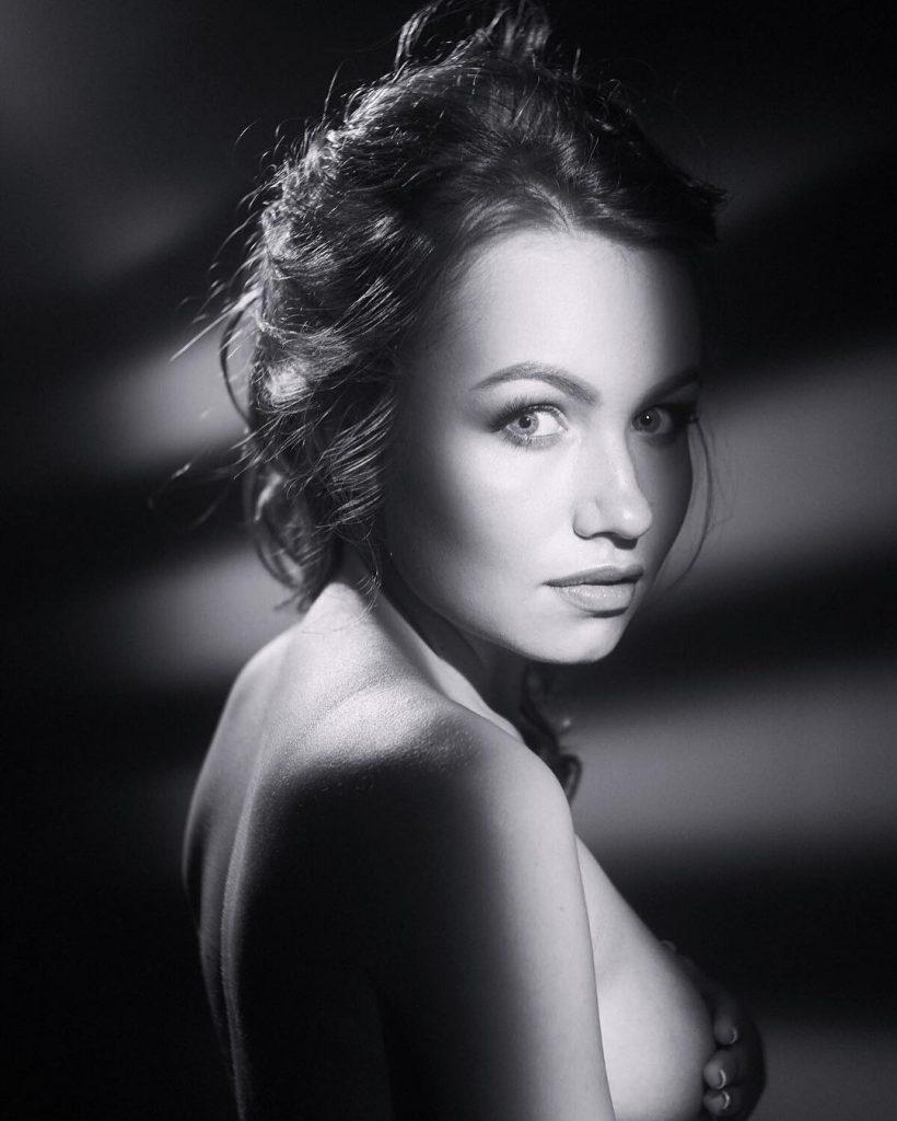 Nicole Ross,  a model from Belarus